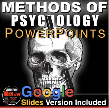 Methods of Psychology PowerPoints (Unit 2) w/Lecture Notes