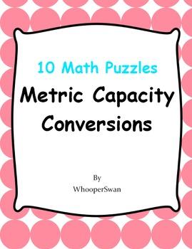Metric Capacity Conversions - Math Puzzles