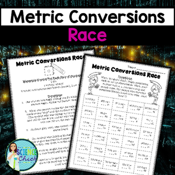 Metric Conversions Race