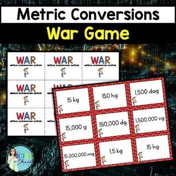 Metric Conversions War Game