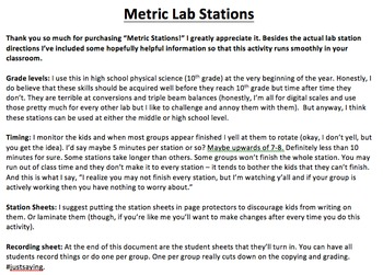 Metric Lab Stations