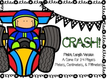 Metric Length CRASH! A Review Game