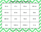 Metric Length Conversions - Connect 4 Game