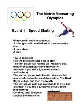 Metric Length Measurement Olympics