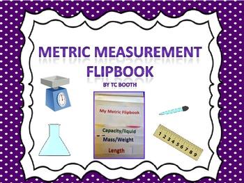 Metric Measurement Flipbook