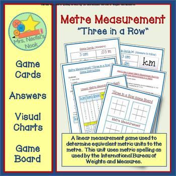 Metric Measurement Game - Millimeters to Kilometers