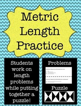 Metric Measurement: Length Practice Puzzle