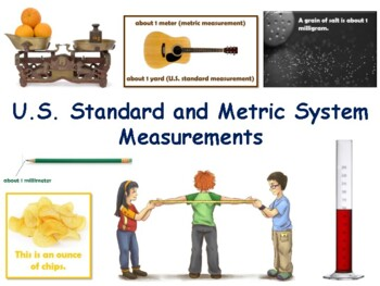 Metric Measurement Lesson - classroom unit, study guide, s
