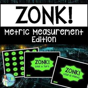 Metric Measurement Game - Zonk! by Science Chick | Teachers Pay ...