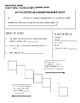 Metric Measurements Note Page