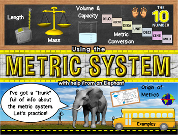 Metric System Powerpoint: Measure Up!