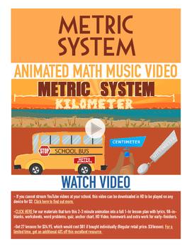 Metric System | FREE Measurement BINGO, Worksheet, & Fun V