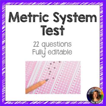 Metric System Test