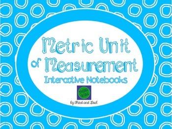 Metric Units of Measurement Flip Book Pack