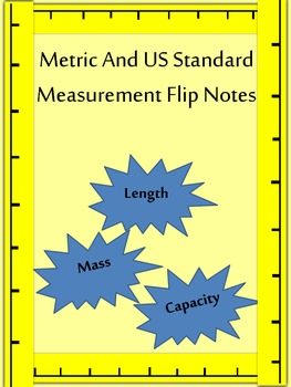 Metric and US Customary Flip Notes
