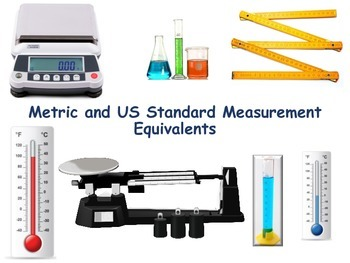 Metric/US Measurement Flashcards - flash cards, study guid