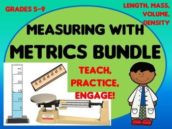 Metrics Measuring HUGE Bundle: Introduce, practice length,