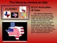 Mexican-American War - 4 causes, 4 figures, 4 events, 4 ef