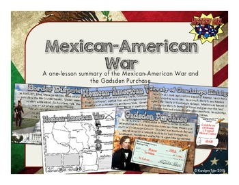 Mexican-American War PowerPoint and Infographic by History Girl ...