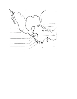 Mexican Map to Label