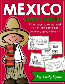 Mexico Booklet (a country study!)
