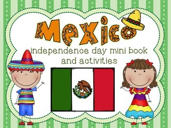 Mexico Independence Day Mini Book and Activities