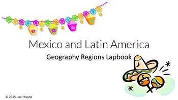Mexico and Latin America Lapbook