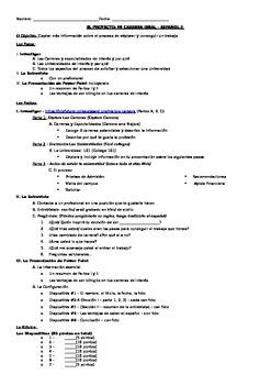 Mi Carrera Ideal - My Ideal Career Project