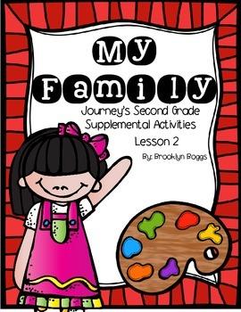 Mi Familia Journey's Activities - Second Grade Lesson 2