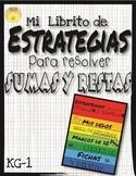 Spanish Addition and Subtraction Flipbook - Estrategias pa