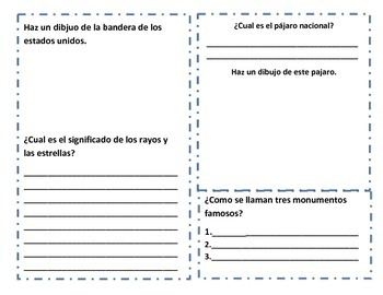 Mi Libro de Simbolos Nacionales (My book of US Symbols)