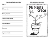 Mi Planta Crece Scientific Notebook