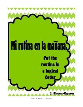 Mi Rutina en la Mañana - My Morning Routine in Spanish - P