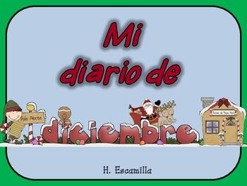 Mi diario de diciembre - My December Journal * Both Spanis
