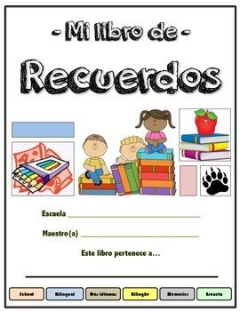 Mi libro de recuerdos (memory book in spanish)