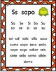 Mi mundo de las consonantes S y T- Actividades