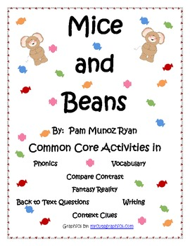 Mice and Beans Common Core Activities