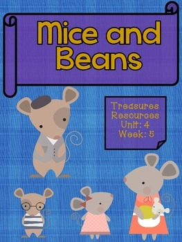 Mice and Beans Focus Wall and Centers Second Treasures Com