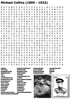 Michael Collins Word Search