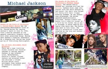 Michael Jackson ~ FREE POSTER ~ Criminal Law Cases ~ Moles