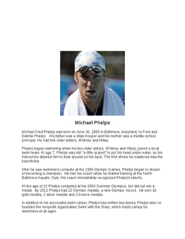 Michael Phelps Bio