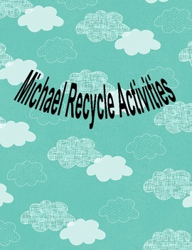 Michael Recycle activity pack