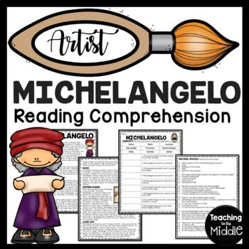 Michelangelo Article, Matching questions, Renaissance, Art