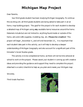 Map  Project Parent Letter