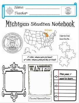 Michigan Notebook Cover
