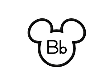 Mickey Mouse ABC Headers - Word Wall
