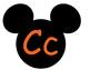 Mickey Word Wall **Orange