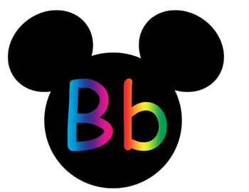 Mickey Word Wall **Rainbow