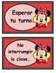 Mickey y Minnie reglas