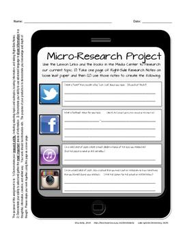 Micro-Research Task